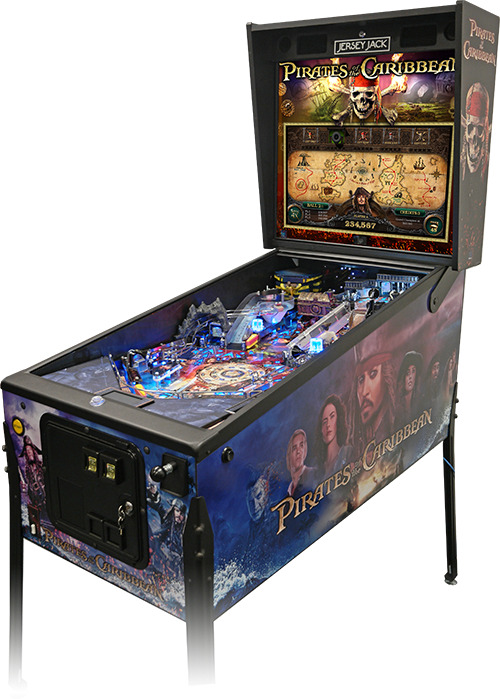 Pirates of the Caribbean Pinball from Canada's #1 Pinball ...
