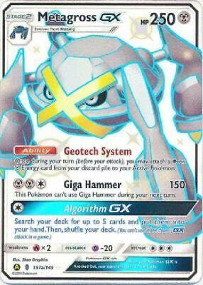 Shiny Metagross GX - SM?? - Promo Near Mint Pokemon Sun & Moon Promos JG2
