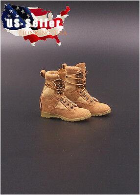 1 6 Soldier Assault Combat Boots For 12  Phicen Hot Toys Kumik Female Figure Usa