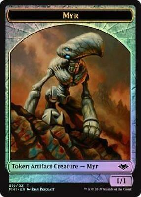 Light Play Mirrodin MTG X4: Myr Enforcer C FREE US SHIPPING!