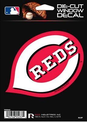 Cincinnati Reds Die Cut Decal-Car Window, Laptop, Tumbler. See Description