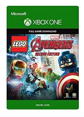 Lego Marvel's Avengers Deluxe Edition Region Free Game Key (Xbox One)