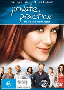 Private Practice - Season 2 (DVD, 6 Disc Set) NEW R4 Series