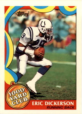 1989 Topps 1000 Yard Club Football #s 1-24 - You Pick - Buy 10+ cards FREE (1000 Yard Club Football Card)