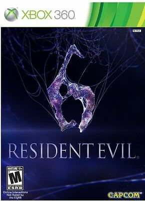 Resident Evil 6 (Microsoft Xbox 360, 2012) Video Games