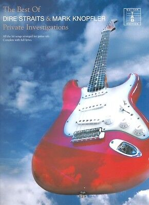 Dire Straits and Mark Knopfler ,Best of_Songbook + 1 Sharkfin Plec weiss