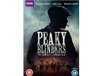 Peaky blinders series 1& 2 dvd boxsets