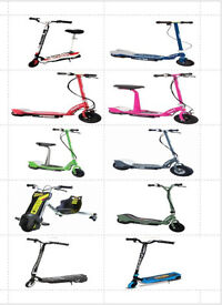 Electric Scooters New & Recon - Razors - Zinc - From As Little As £25