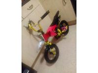 Motorcross.Bike.Childs bike 2 to 5 all working suit boy motor crosser style bike R.R.P £99.99