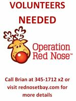 Operation Red Nose. Give one night to change a life.