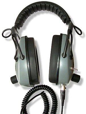 Detector Pro Gray Ghost NDT Metal Detector Headphones