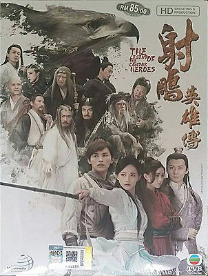 2017 THE LEGEND OF THE CONDOR HEROES 1 ~ 52 in 10 DVDs English Subs 16:9 R0
