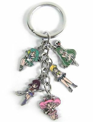 #KEY034 - Sailor Moon - Schlüsselanhänger Keychain - Outer Senshi