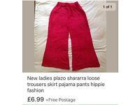 Plazo trousers