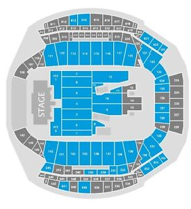 2 Pit Tickets to Guns n Roses