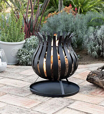 Dunelm Bulb Fire Basket / Fire Pit *New* Free Delivery- wood burner,patio heater