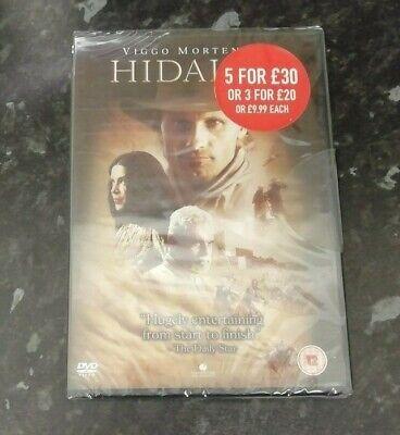 Hidalgo (DVD, 2004, NEW & SEALED) Viggo Mortensen, Omar Sharif