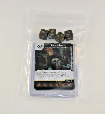 Marvel Dice Masters Mighty Thor * FEMALE PUNISHER * RARE Uncommon Set CUR 4 dice