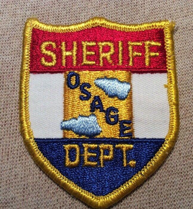 KS Osage County Kansas Sheriff Patch (3In)