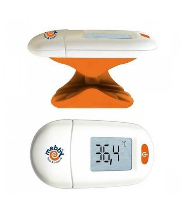 Mebby 92691 Mother's Touch Thermometer Sensor Stirn Raumtemperatur Kind Baby