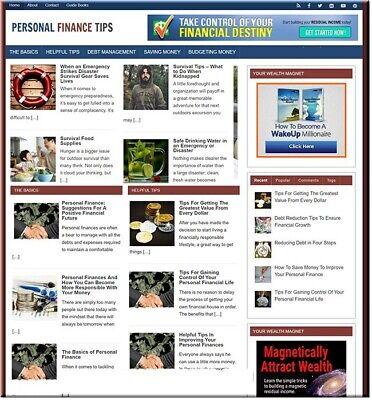 Personal Finance Niche Blog Business Make Money Affiliate Amazn Adsnsclikbnk
