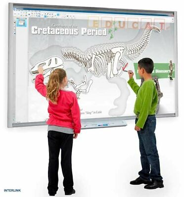 Interactive Smart Board M600 Epson Powerlite 575w Short Throw 3lcd Projector