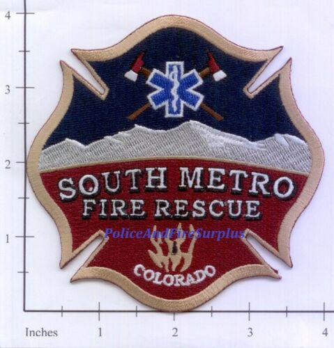 Colorado - South Metro Fire Rescue CO Fire Dept Patch