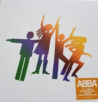 "Abba, The Album - The Singles, NEW/MINT/SEALED UK Ltd edition 7"" vinyl BOX SET"