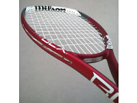 PROFESSIONAL RACKET STRINGING FOR ALL RACKET SPORTS INCLUDING SQUASH. LONDON KT2
