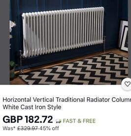 Double column radiator