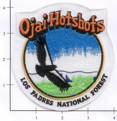 California - Ojai Hotshots Las Padres National Forest CA Dept Fire Patch