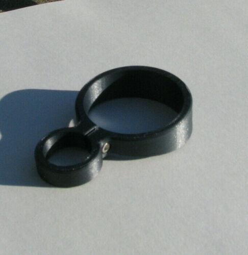 Umarex gauntlet barrel band,flop stopper .177Cal, .22Cal, .25Cal  black