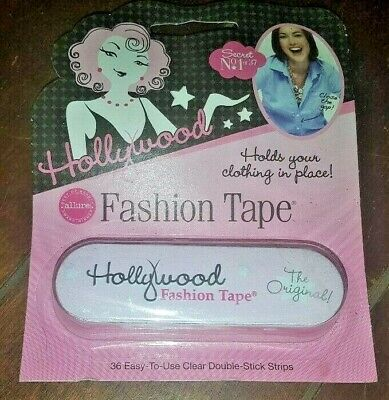 Hollywood Fashion Tape - 36 Easy-To-Use Clear Double Stick Strips