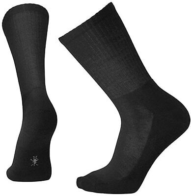 Smartwool Men's Heathered Rib Socks (Black) Medium