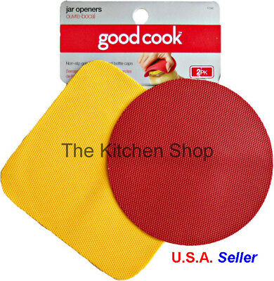 Good Cook 2-Pack Non-Slip Jar Opener