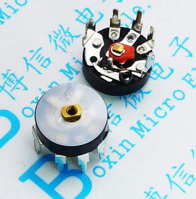 Free 20pcs Potentiometer Rv12mm B503 B50k Radio Potentiometer With Switch
