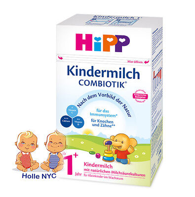HiPP Combiotic Kindermilch 1+ Milk Formula FREE SHIPPING 05/2020