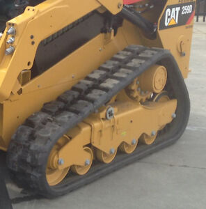 Rubber Tracks from Cat 259D Skid Steer.