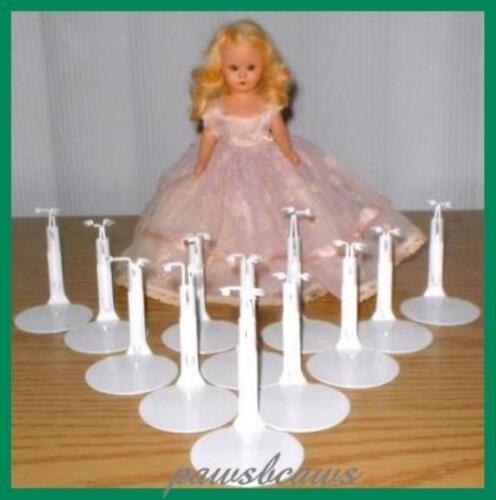 One Dozen 12 Kaiser #1001 Miniature Doll Stands for NANCY ANN Storybook