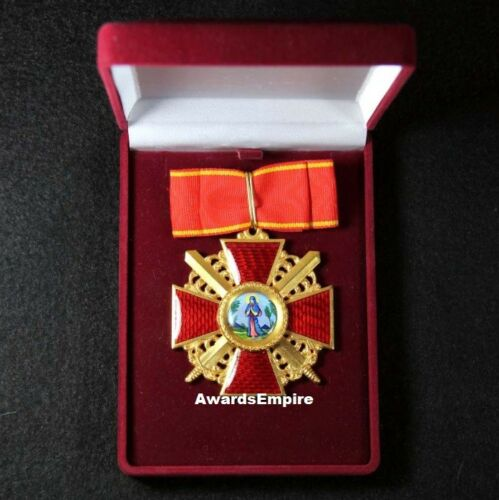 👉Russian Imperial award - Cross of the Order of St. Anne 1 degree/large -copy👍