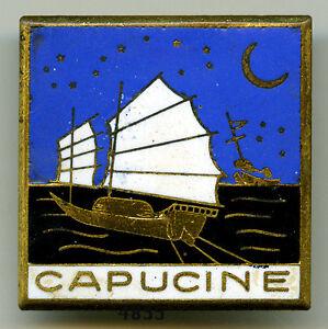 Insigne marine drageur capucine voiles blanches ebay for Fenetre capucine