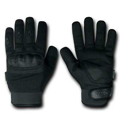 Black Terminator Level 5 Patrol Tactical Police Gloves Glove Pair S M L Xl 2xl