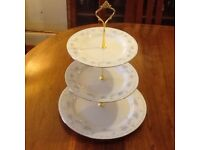 8 MATCHING VERY PRETTY 3 TIER CAKE STANDS