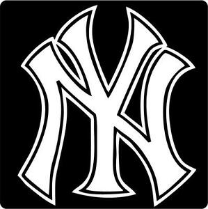 New York Yankees Stickers For Car
