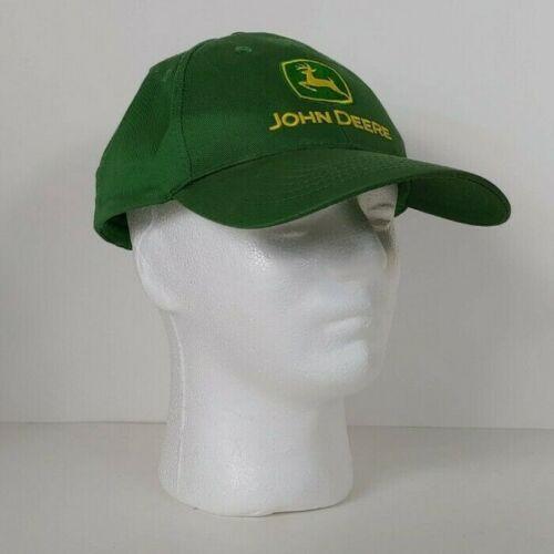 Green & Yellow John Deere Powerland Equipment Snapback Hat