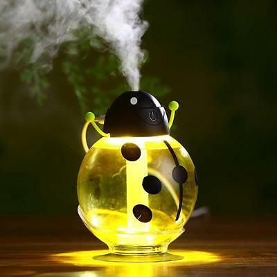 Beatles Pattern DC 5V Home Aroma LED Humidifier Air Diffuser Purifier Atomizer