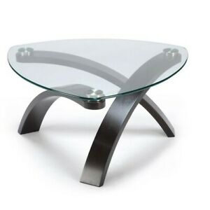 Beautiful Contemporary Pie Shaped Table by Allure - PRISTINE SHA