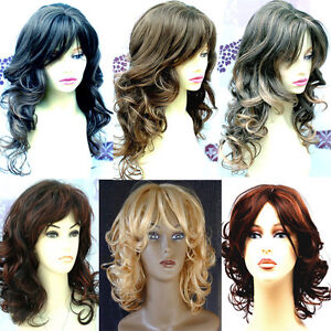 Gorgeous-Long-Wavy-Short-Curly-Lady-Blonde-Wig-Black-Brown-Red-Wigs