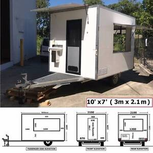 Food Trailer Truck Full Equipped Mobile Kitchen Caravan Brand New Sumner Brisbane South West Preview