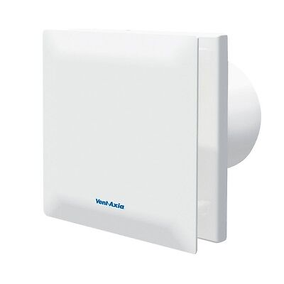 Vent-Axia Silent Bathroom Extractor Fan VASF100B 100mm 14dBA Quiet VASF100
